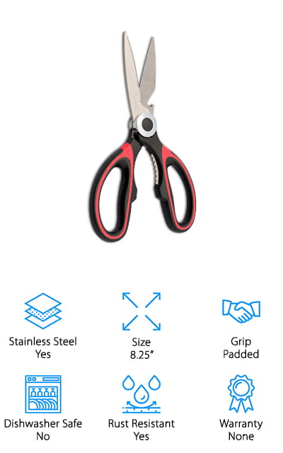 NOVASKO Premium Kitchen Shears