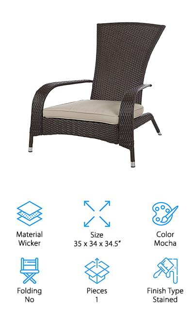 Patio Sense Adirondack Chair
