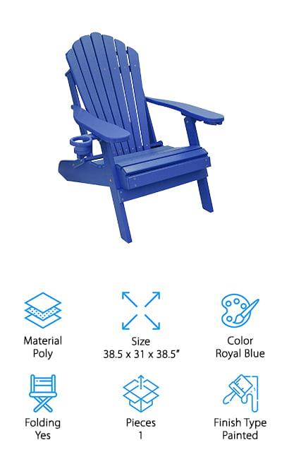 ECCB Outdoor Adirondack Chair