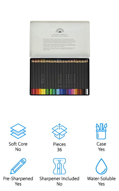 Fantasia Premium Watercolor Pencils