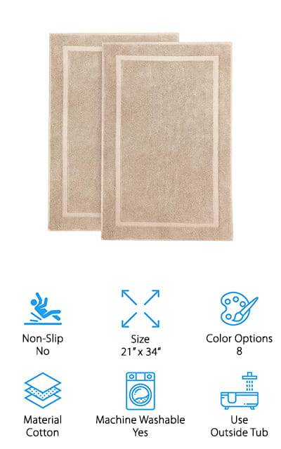 Cotton Craft Luxury Bath Mat