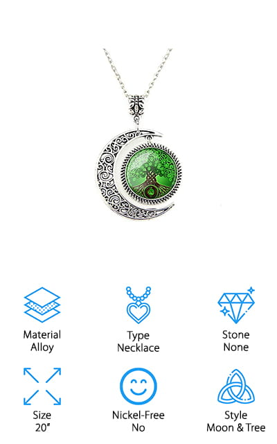 L-Unique Tree of Life Necklace