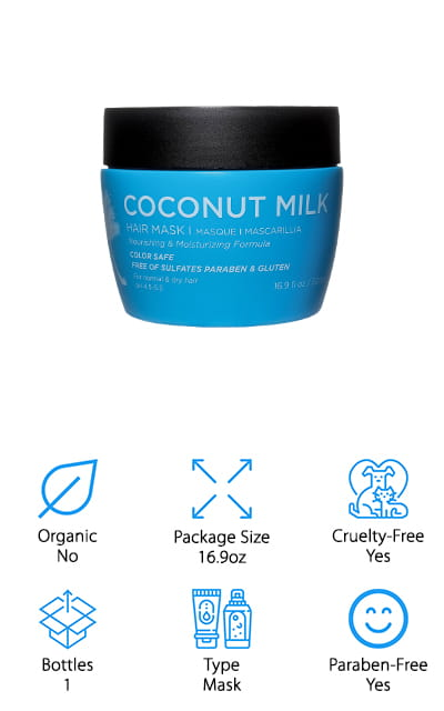 Luseta Coconut Milk Hair Mask