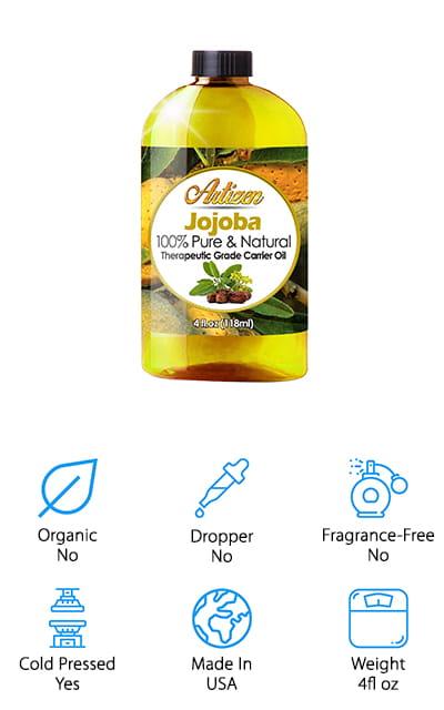 Artizen Pure Jojoba Oil