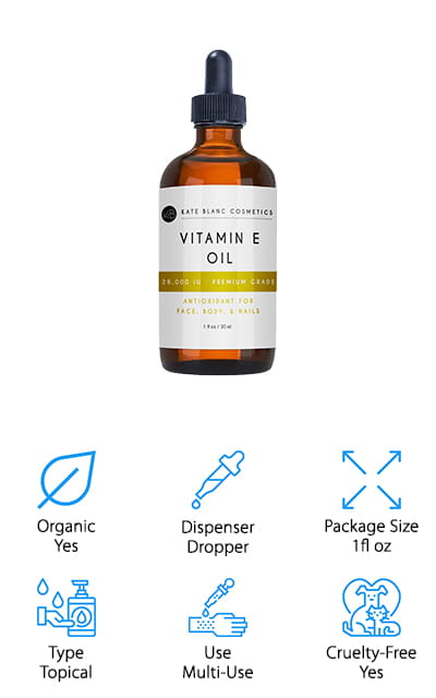 Kate Blanc Vitamin E Oil