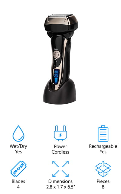 Lyker Electric Foil Shaver