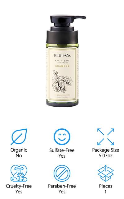 Kaff & Co. Kaffir Lime Shampoo