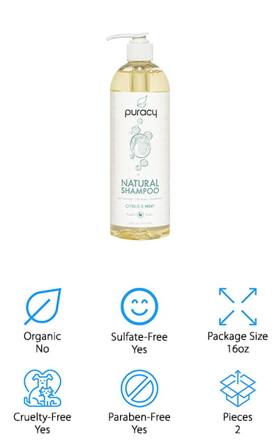 Puracy Natural Daily Shampoo