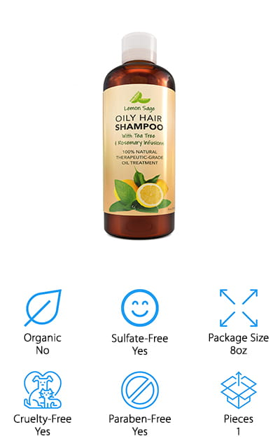 Honeydew Lemon Sage Shampoo
