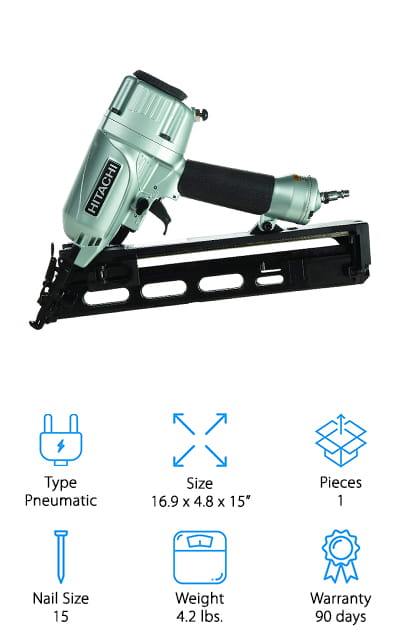Hitachi NT65MA4 Finish Nailer