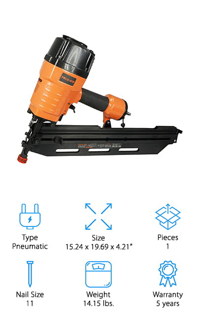 Valu-Air 9021C Framing Nailer