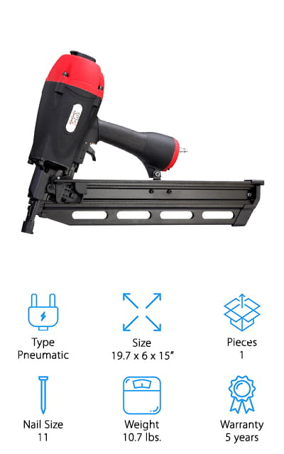 3PLUS H2190SP Framing Nailer