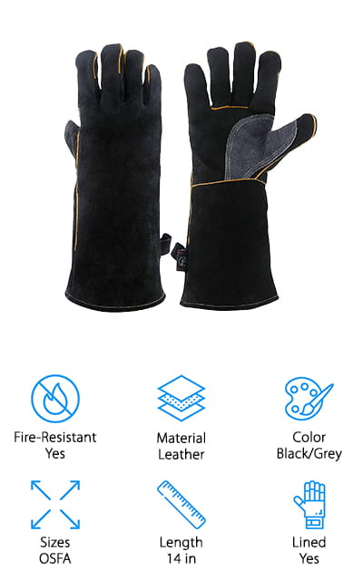 KIM YUAN Welding Gloves
