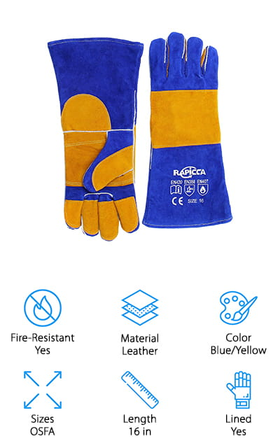 RAPICCA Forge Welding Gloves