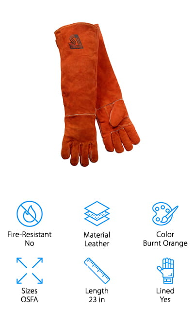 Steiner 21923-L Welding Gloves