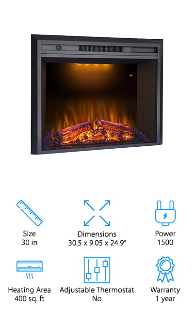 Valuxhome Houselux Fireplace Insert