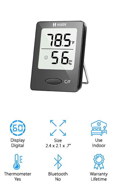 Habor Digital Hygrometer