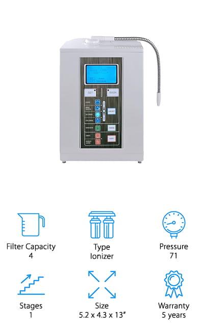 Aqua Ionizer Alkaline Filtration System