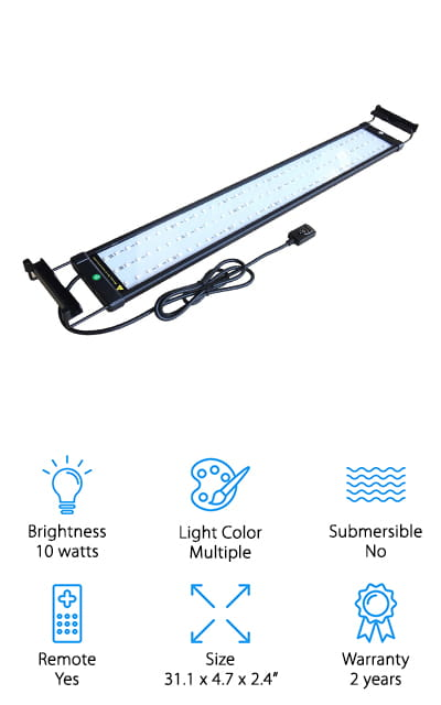 COODIA Aquarium LED Light
