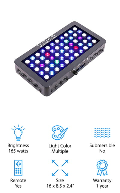 VIPARSPECTRA LED Tank Light