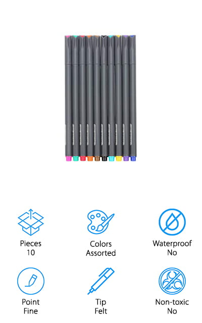 10 Best Pens For Note Taking 2019 Buying Guide Geekwrapped