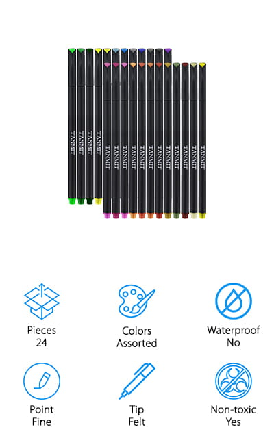 Tanmit Planner Pens