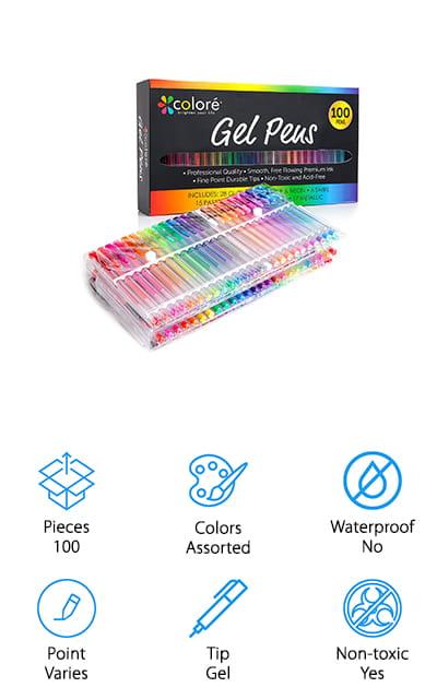 Colore Gel Pens Set
