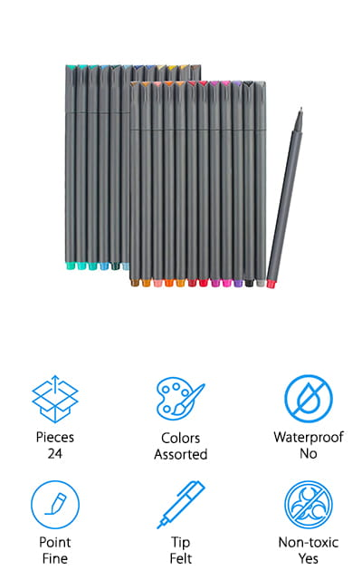 iBayam Fineliner Pens