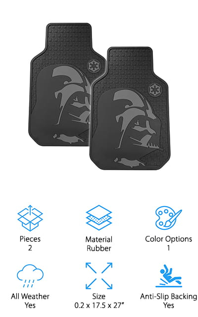Plasticolor Star Wars Floor Mats
