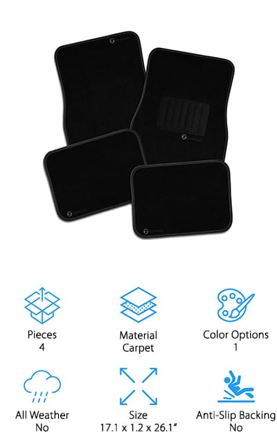 Zone Tech Floor Mats