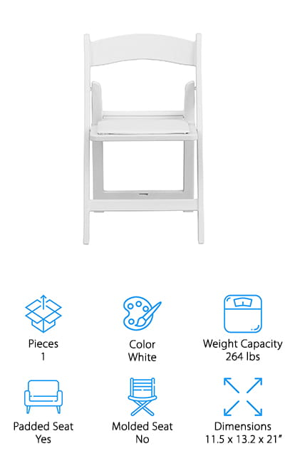 Flash Furniture Kids Resin Folding Chair