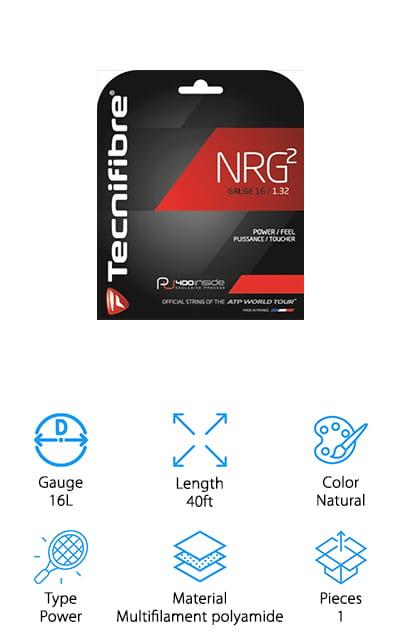 Tecnifibre NRG2 Tennis String Pack