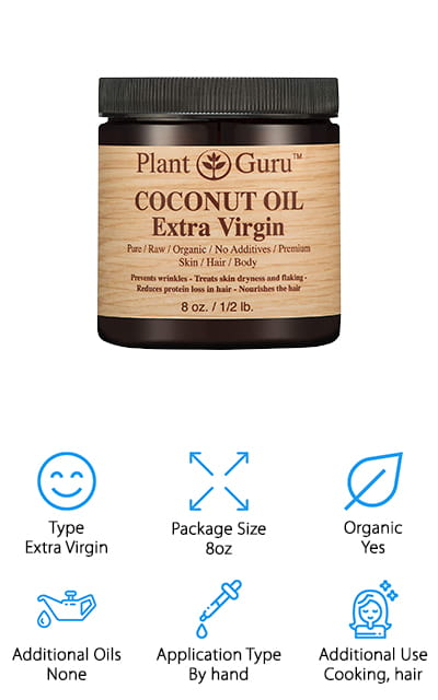 Plant Guru Coconut Oil