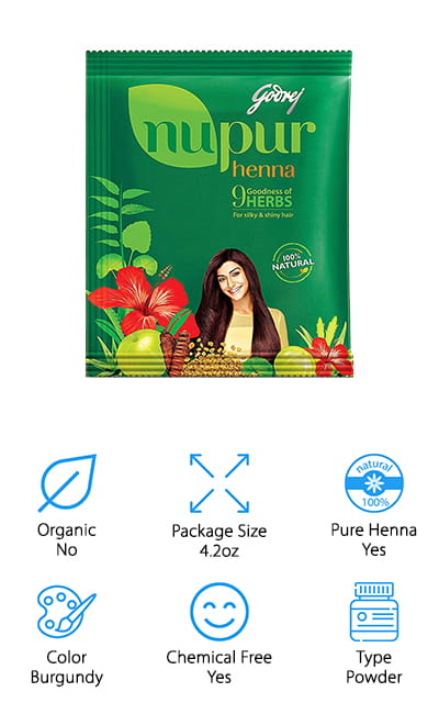 Godrej Nupur Henna Hair Color