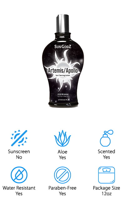 Sungodz Indoor Tanning Lotion