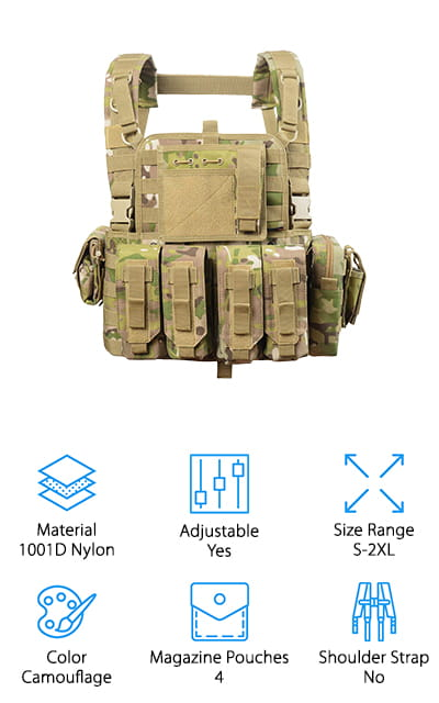 vAv YAKEDA Tactical Chest Rig Vest