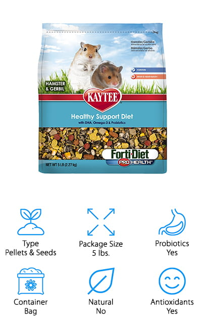 Kaytee Forti Diet Hamster Food