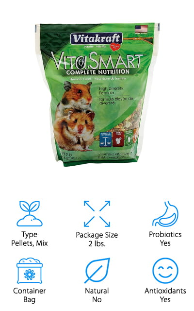 Vitakraft Vitasmart Hamster Food