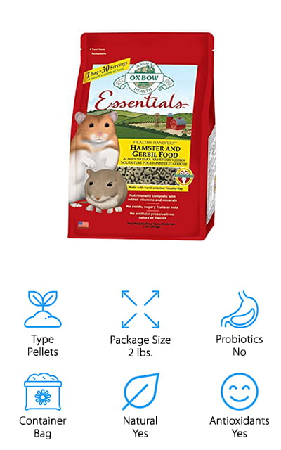 Oxbow Animal Health Hamster Food