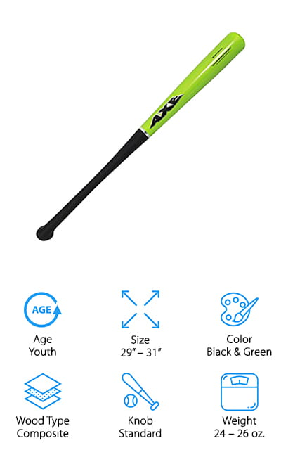 Axe Bat Youth Composite Wood