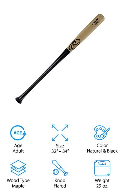 Rawlings Velo Wood Baseball Bat