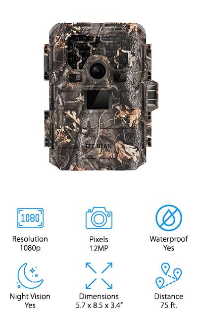 TEC.BEAN Trail Game Camera