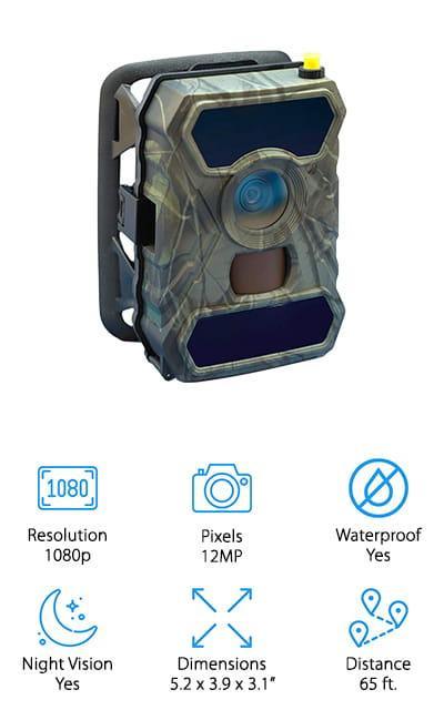CreativeXP Cellular Trail Camera
