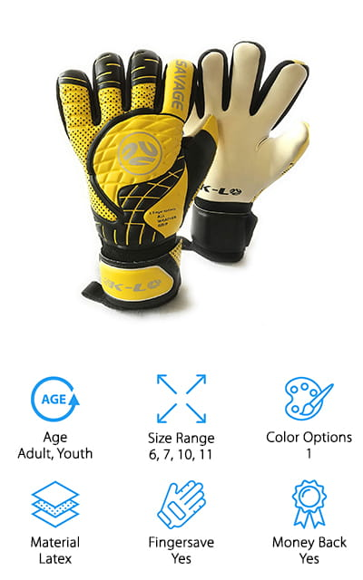 K-LO Sports Savage Goalie Glove
