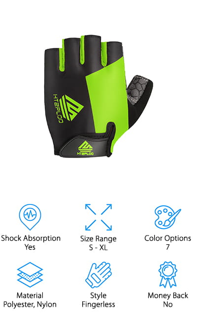 HTZPLOO Mountain Bike Gloves