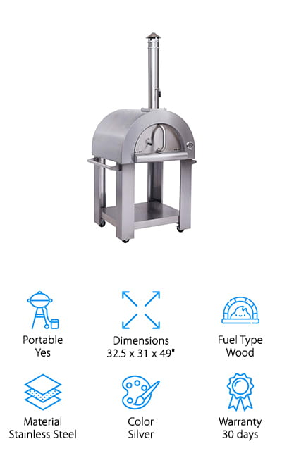 MCP-Distributions Pizza Oven