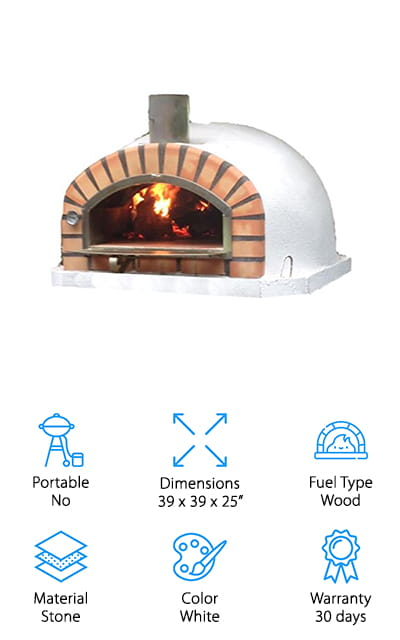 Authentic Pizza Ovens Pizzaioli Oven