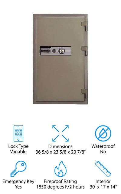 Steelwater Gun Safes Fireproof Safe