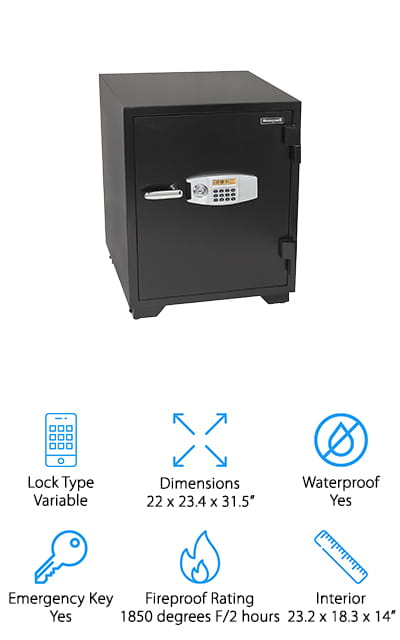 Honeywell Fireproof Security Safe