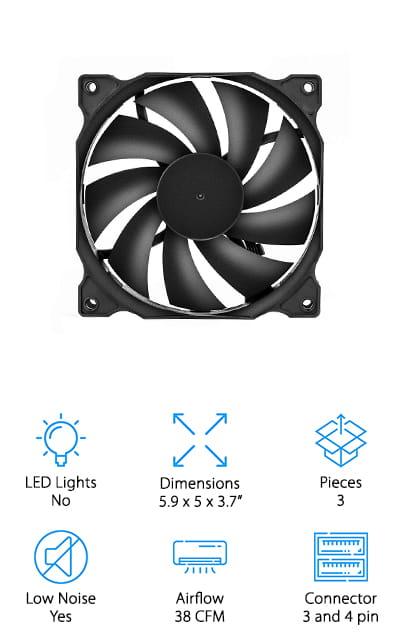 uphere Computer Case Fan